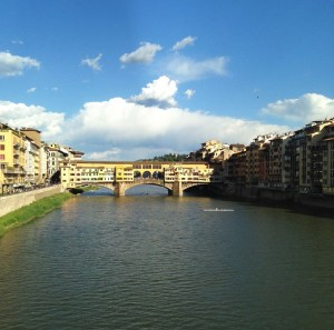 The historic Ponte Vecchio